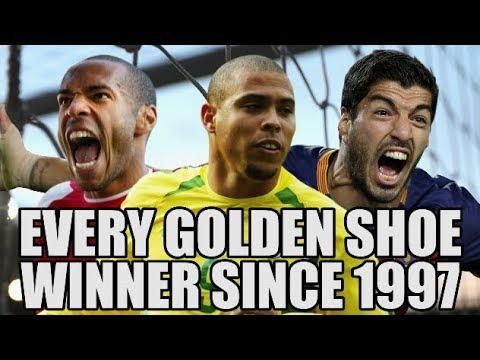 EVERY Golden Shoe Winner Since 1997 (видео)