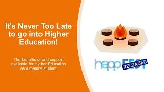 It's Never Too Late to go into Higher Education!