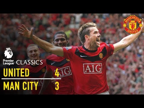 Manchester United 4-3 Manchester City (09/10) | Premier League Classics | Manchester United