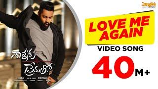 Video Love Me Again Full Video Song || Nannaku Prematho || Jr Ntr, Rakul Preet Singh MP3, 3GP, MP4, WEBM, AVI, FLV September 2018