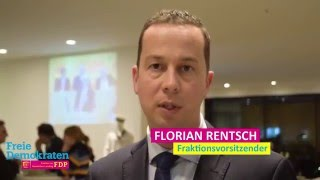 Video zu: Florian Rentsch zur Neugestaltung des Länderfinanzausgleichs