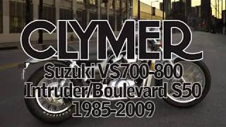 1. Clymer Manuals Suzuki VS700 VS750 VS800 Intruder Boulevard S50 Manual intruderalert.com Video