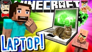 Minecraft STEVE'S LAPTOP! Shields&More!