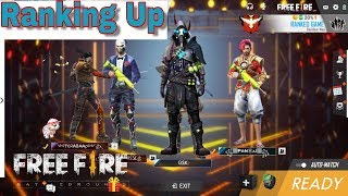 Free Fire Live | SQUAD Death Uprising Game | Heroic Game Play (INDIA)