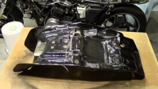 10. Project Honda Sabre Cafe Racer Part 6