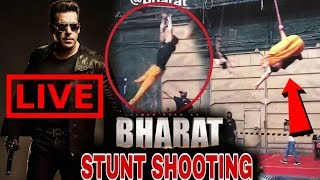 Video Bharat Movie Stunt Shooting Live | Trapeze artist Work Starts On Circus Schedule Shooting MP3, 3GP, MP4, WEBM, AVI, FLV Juli 2018