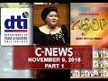 News (November 9, 2018) PART 1