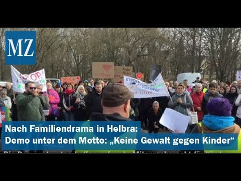 Nach Familiendrama in Helbra: Demo unter dem Motto