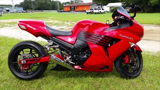 10. 2006 Kawasaki Ninja ZX 14 Stretched With Brocks Exhaust