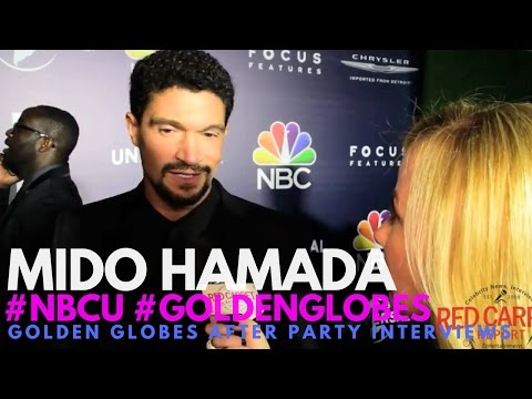 Mido Hamada interviewed at NBC Universals's 74th Annual Golden Globes After Party #GoldenGlobes