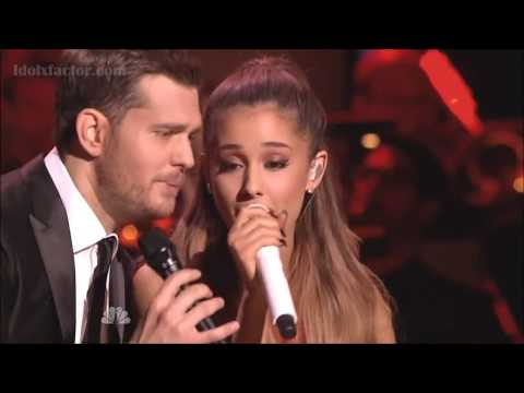Michael Buble & Ariana Grande – Santa Claus Is Coming To Town