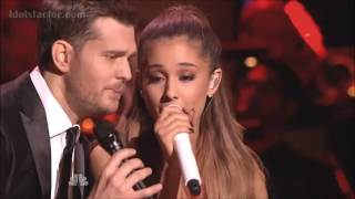 "Video Michael Buble & Ariana Grande ""Santa Claus Is Coming To Town"" MP3, 3GP, MP4, WEBM, AVI, FLV Januari 2019"