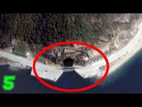 5 misteriose basi sotterranee segrete - da vedere!