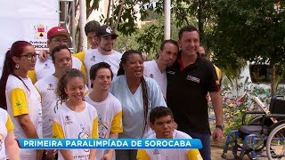 Cerca de 300 pessoas participam das paralimpíadas de Sorocaba