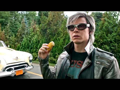 X-men Apocalipsis Escena Quicksilver Español Latino