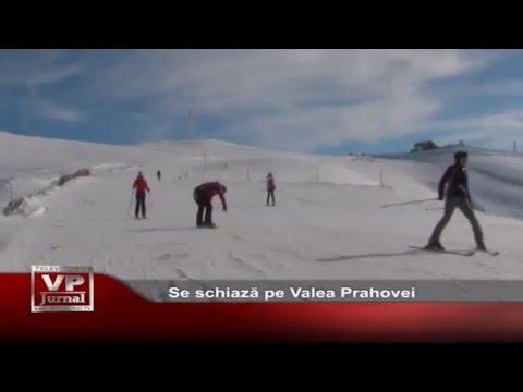Se schiaza pe Valea Prahovei