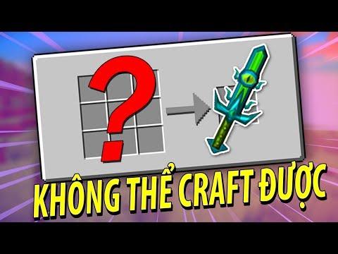Minecraft | VŨ KHÍ KHÔNG THỂ CRAFT ĐƯỢC!! - Thời lượng: 11:02.