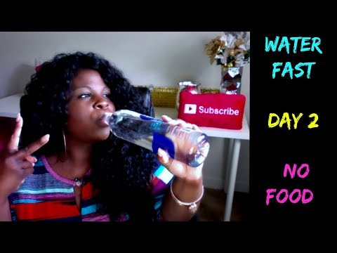 Weight loss pills - 3 DAY WATER FAST (NO FOOD) DAY #2