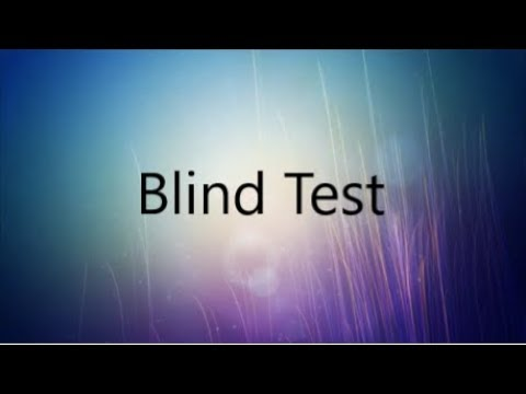 Blind Test All Categories (Hard?) Video Games, Anime, Films...