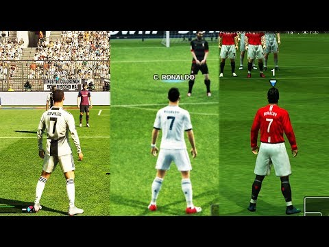 Free Kicks From PES 97 to 19