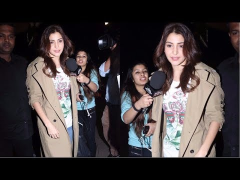 Anushka Sharma With Family Fly To Italy Spotted At Airport