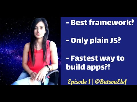 🤖E1 | Which Framework is the best😉? | 2020