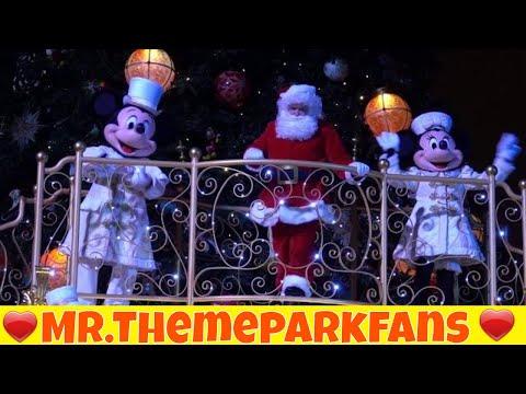Mickey's Magical Christmas Lights Disneyland Paris Christmas season 2017 - 2018 . :)