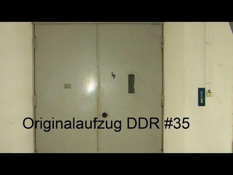 Originalaufzug DDR35/1979/Lastenaufzug/5000kp in HD (1080p)