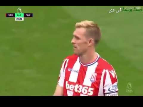 Chelsea VS Stoke City 4 0 》 All 4 Goals   Highlights 》23, 9, 2017 》 Interesting
