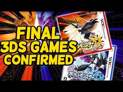 Pokémon USUM Are the FINAL Games on 3DS...CONFIRMED...