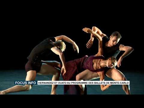 Focus info : Hernandez et Duato au programme des Ballets de Monte-Carlo