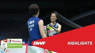 Download Video TOTAL BWF SUDIRMAN CUP 2019 | WD | JAPAN VS RUSSIA | BWF 2019 MP3 3GP MP4