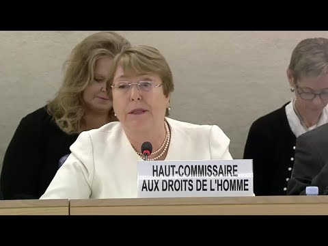 New Human Rights chief's, Michelle Bachelet, first speech to the Human Rights Council