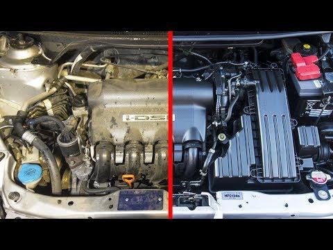 TRUCOS   Como Limpiar el Motor del Coche -  La Mejor Manera de Lavar un Motor