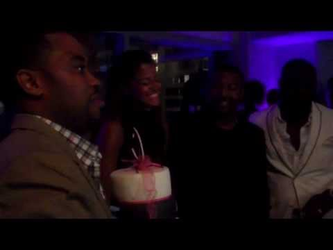 Claudia Jordan's 40th Birthday Celebration In L.A.