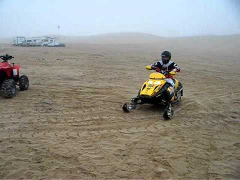 Snowmobiling at Glamis Sand Dunes 1!!