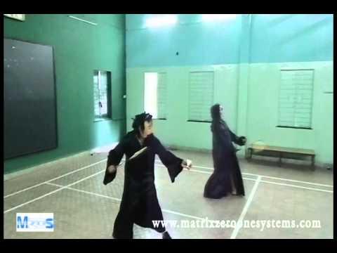 Scary Badminton