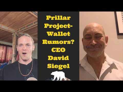 Pillar Project Takes off- Wallet Rumors? David Siegel & Tijo chat