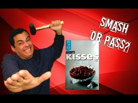 Hershey's Kisses Cereal Review/Smash or Pass?