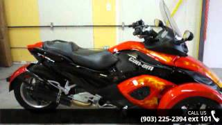 3. 2009 Can-Am Spyder GS Phantom Black Limited Edition SM5  ...