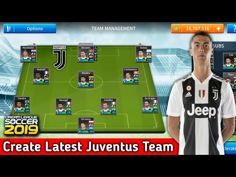 How To Create Juventus Team In Dream League Soccer 2019