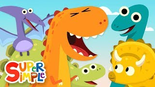 10 Little Dinosaurs   Kids Songs   Super Simple Songs