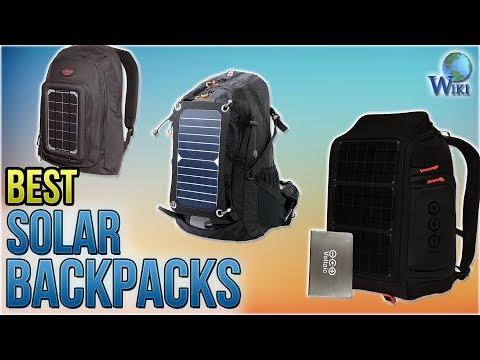 10 Best Solar Backpacks 2018