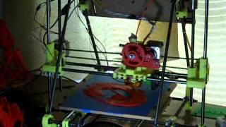 3d printing demo - 9.5 inch figure