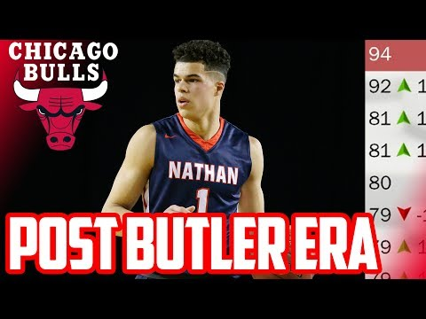 POST BUTLER ERA! 2018 CHICAGO BULLS REBUILD! NBA 2K17 My League