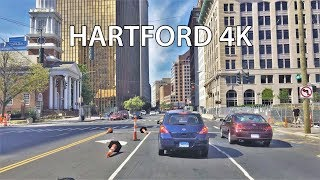 Hartford (CT) United States  City pictures : Driving Downtown - Hartford Connecticut USA