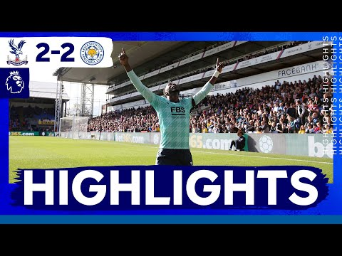 Points Shared In The Capital   Crystal Palace 2 Leicester City 2