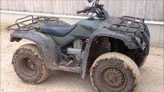 8. Honda Rancher 350 ATV (ES & Base Semi Automatic)