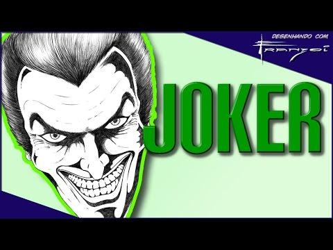 Joker - Desenhando com Franzoi_5