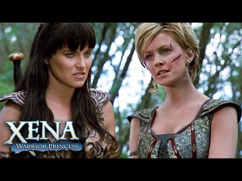 Najara provoca Xena   Xena: A Princesa Guerreira